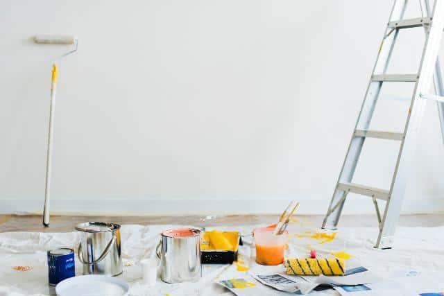 Er der giftige dampe i malingen?